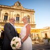 Stunning Intimate Town of Scicli Destination Wedding. From Germany, Sabine & Engel have chosen the Sicily to get married.