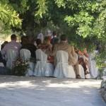 cerimonia aperto muri a secco