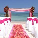 matrimonio sulla spiaggia allestimento