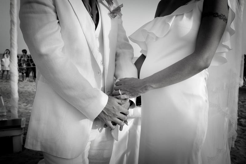 Matrimonio Spiaggia Sicilia : Foto reportage matrimonio sulla spiaggia in sicilia
