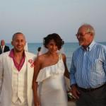 Gli Sposi e il Sindaco di Scicli Dott. Francesco Susino
