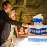 Taglio della torta sposi
