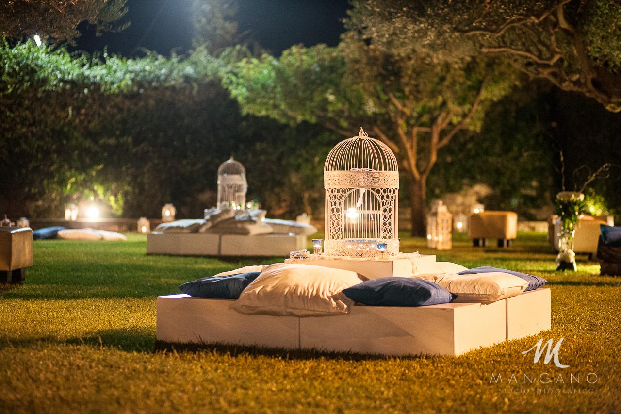 Foto reportage matrimonio simone consuelo for Allestimento giardino matrimonio