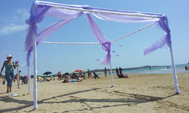 Matrimonio In Spiaggia Sicilia : Lavori in corso oggi pomeriggio matrimonio sulla spiaggia