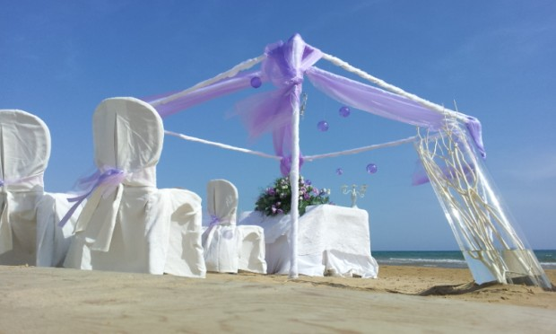 Matrimonio Spiaggia Catania : Celebrazione matrimonio in spiaggia sicilia sampieri