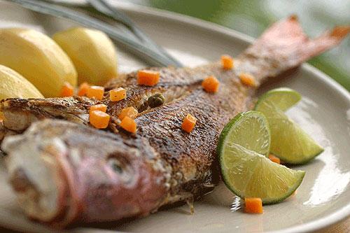 Cena O Pranzo A Base Di Pesce Per Persona