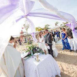 wedding on the beach fiocchi di riso 6