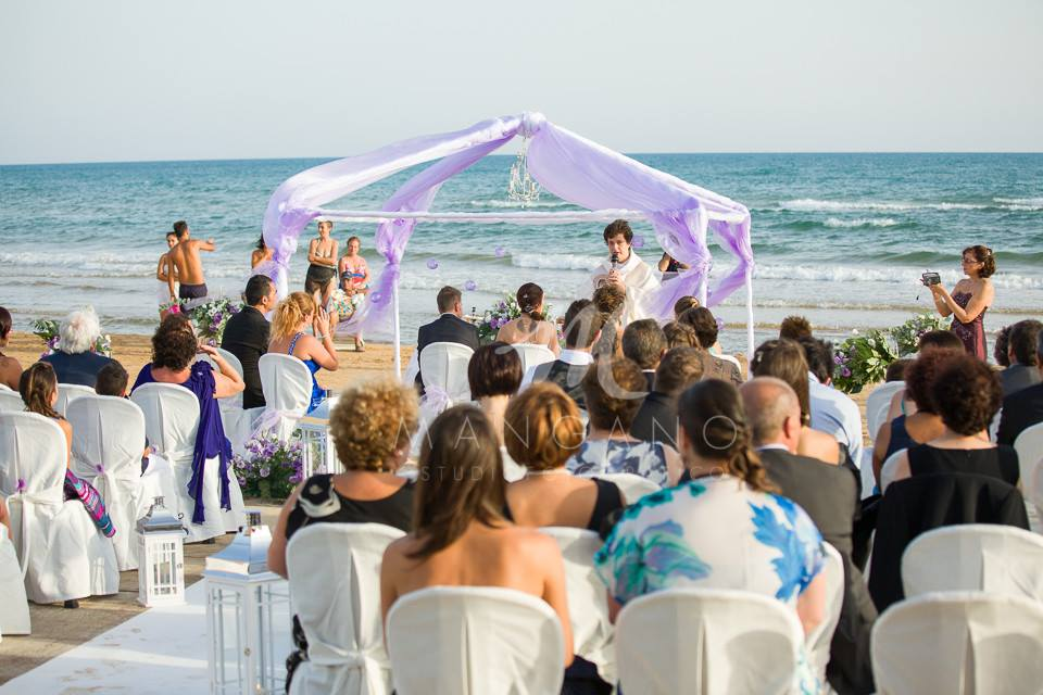 wedding on the beach fiocchi di riso 8