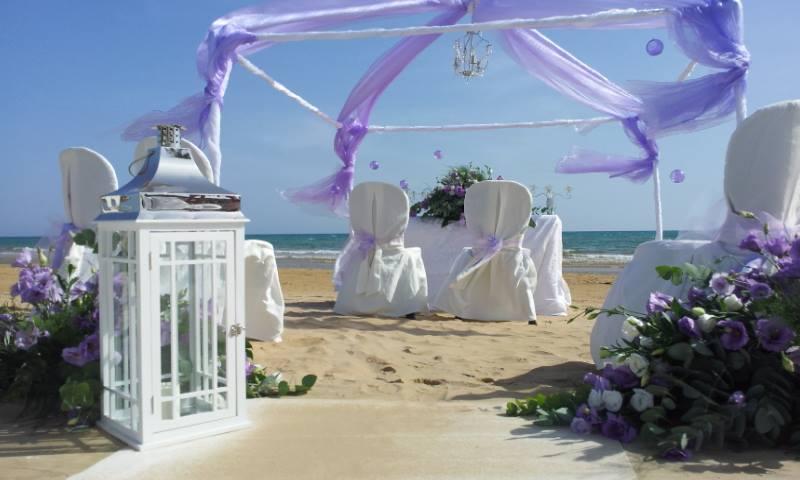wedding on the beach fiocchi di riso