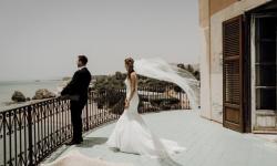Splendido matrimonio sulla spiaggia siciliana, al Castello di Falconara